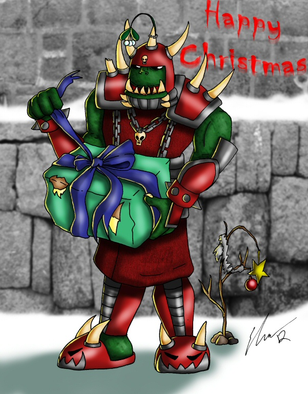 Warhammer Christmas by o0NeonCola0o on DeviantArt