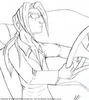 JCA fan art:Valmont car sketch by o0NeonCola0o