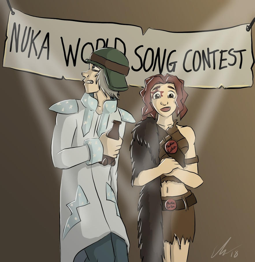 Nuka World Song Contest by o0NeonCola0o