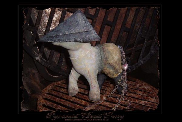 My_Little_Pony__Pyramid_head_by_o0neondr