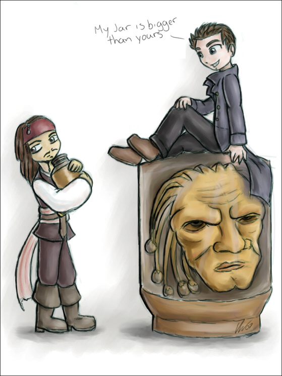 Captain Jack Doctor Who Face Of Boe