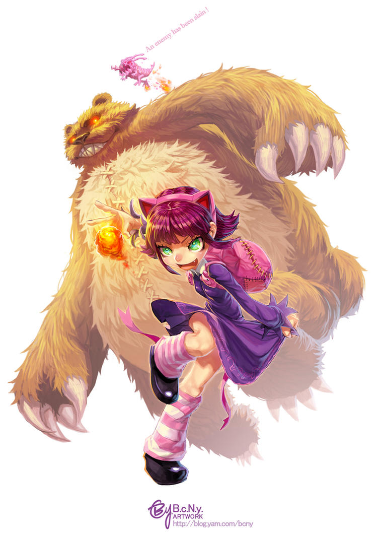 League of Legends: Annie by bcnyArt