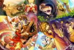 Taiwanese Fable:hundred-pace snake marriage story
