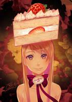 Cake Girl by bcnyArt