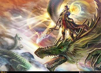 Xuan Yuan Kingdom: Promotional Illustration by bcnyArt