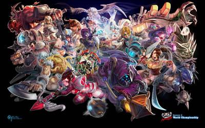 Taipei Assassins - S2 World Championship by bcnyArt