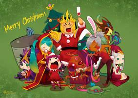 League of Legends: Merry Christmas by bcnyArt