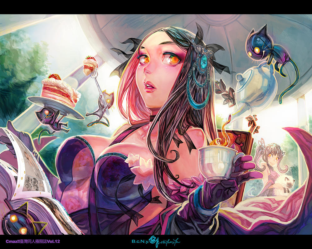 Tea Time by bcnyArt
