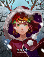 Merry Christmas 2013 by bcnyArt