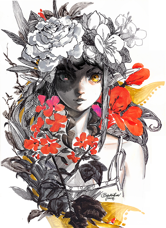 Flower Spirit by bcnyArt