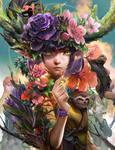 The Spirit of Flower by bcnyArt