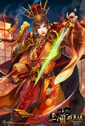 The Three Kingdoms Mobile Zhou Yu by bcnyArt