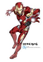 171209 Iron Man by bcnyArt