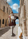 Knights Hospitaller in Rhodes by owakoblack