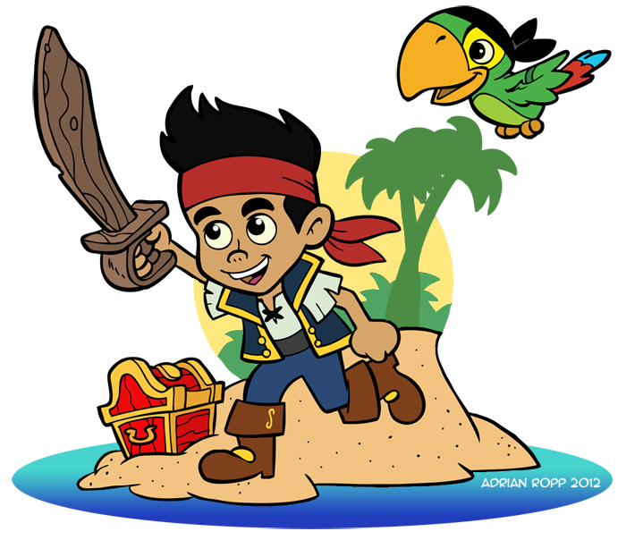 Jack And The Neverland Pirates Fan Art