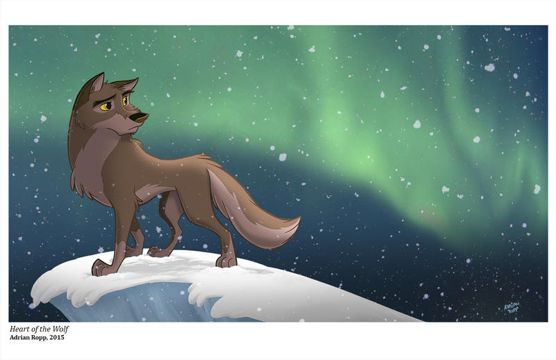 Balto: Heart of the Wolf by toonbaboon