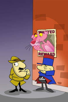 Pink Panther #3 Cover Art