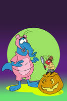 Pink Panther Trick or Pink Cosplay Cover Colors by toonbaboon