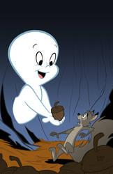 Casper the Friendly Ghost by toonbaboon