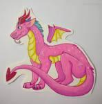 Spyro's gay cousin by Mischiefur