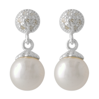 pearl ear ring stock png by DoloresMinette
