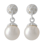 pearl ear ring stock png