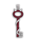 Evil charm PNG stock