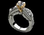 Diamond ring png stock