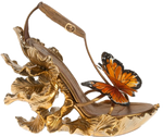Butterfly shoe png stock