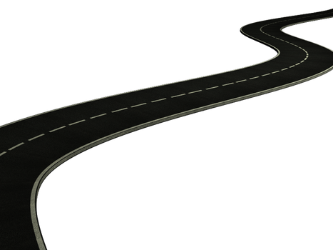 road PNG stock