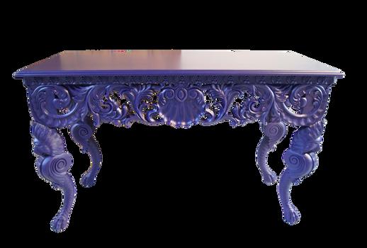 purple table stock