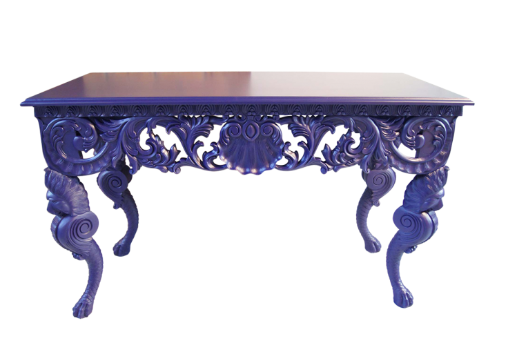 Console Table As Kitchen Island