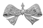 jeweled barrette bow stock