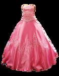 Cinderella Dress png stock
