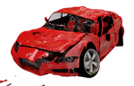 smashed car PNG