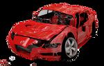 smashed car PNG
