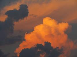 Beautiful clouds stock
