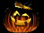 Pumpkin carved png