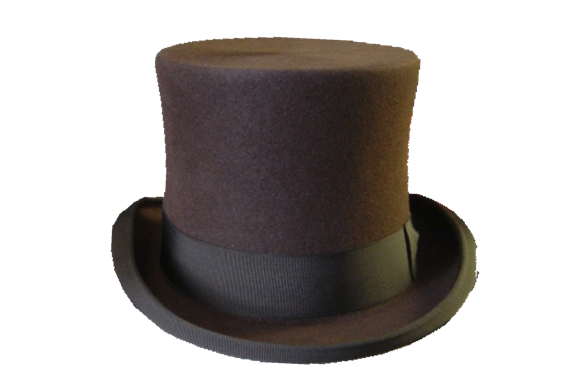 brown Top hat PNG by DoloresMinette on DeviantArt