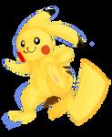 Fan art : Chalky Pikachu
