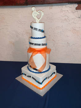 For the love of music cake