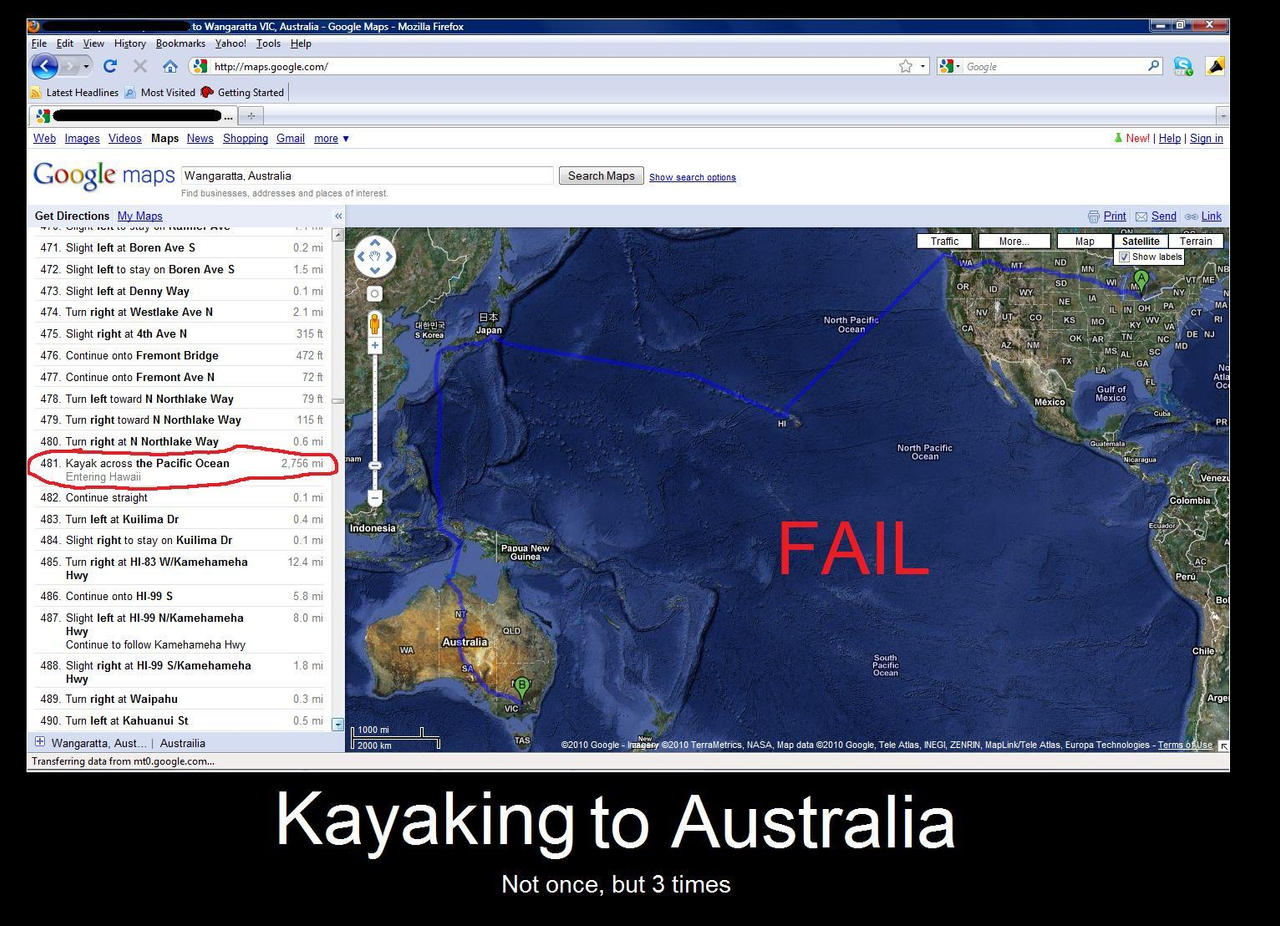 Google Maps Fail by xCailinMurre on DeviantArt