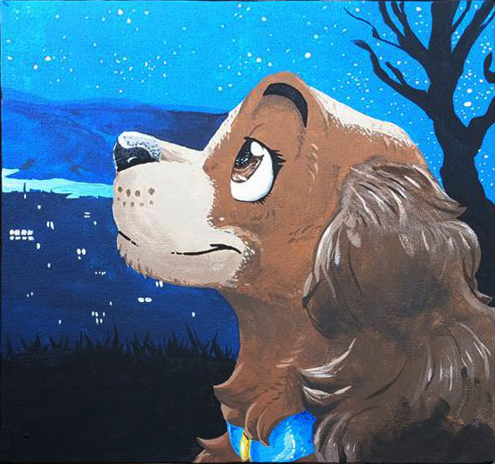 Bella Notte Lady And The Tramp Painting Set By Xcailinmurre On Deviantart