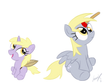 Dinky And Derpy