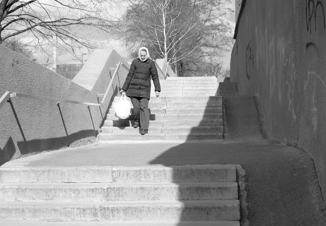 Old lady by b-boy-sh1ft