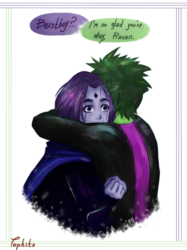 Raven Superhero And Beast Boy Raven x BeastBoy by To...