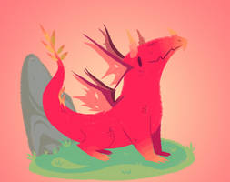 Cute Dragon by Bassamii