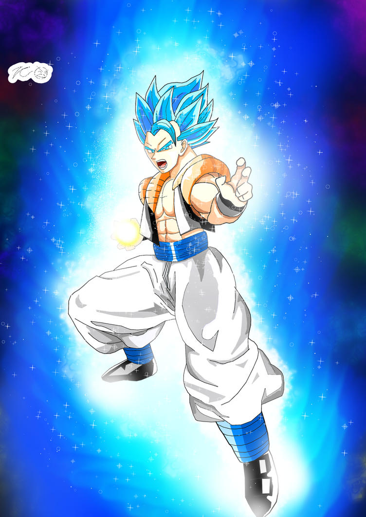 Broly's Downfall! Super Saiyan Blue Gogeta! by Zecrus-chan