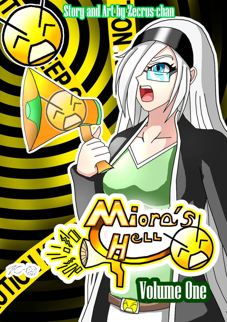 Miora's Hell, Volume One, Ebook Version Cover! by Zecrus-chan