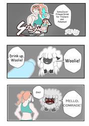 (Work In Progress) SoniaJuice comic by Zecrus-chan